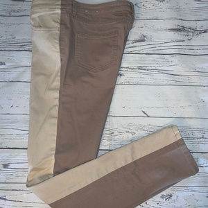 Kate Spade Saturday The Skinny Two-Tone Jeans Sz30